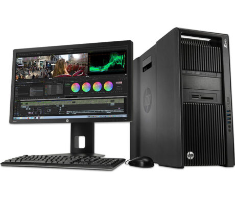HP 12 Cores Z840 8GB Graphics Mini Tower